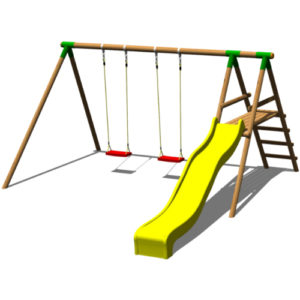 altalena doppia slide